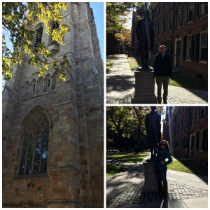 We decided we wanted to see Yale. So we went! And it does NOT disappoint. Stunning.